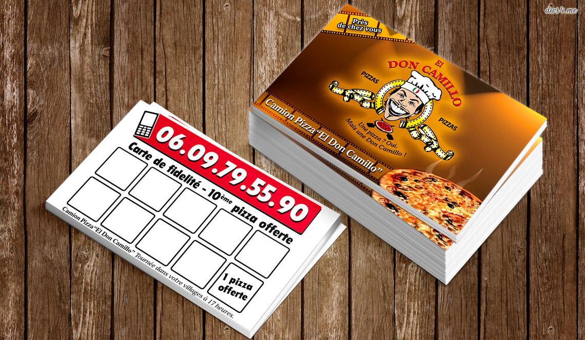 Objectifs Cartes De Fidelite Pour Les Pizzas