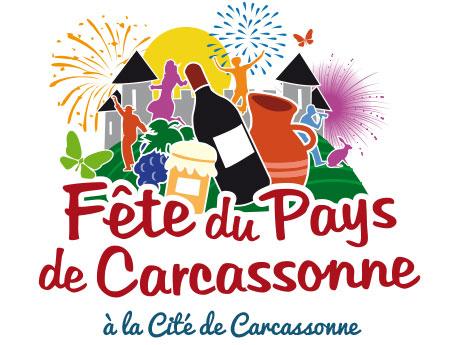 logo de la fete de pays de carcassonne