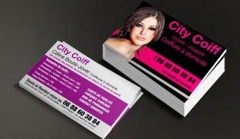 Cartes de visite City Coiff
