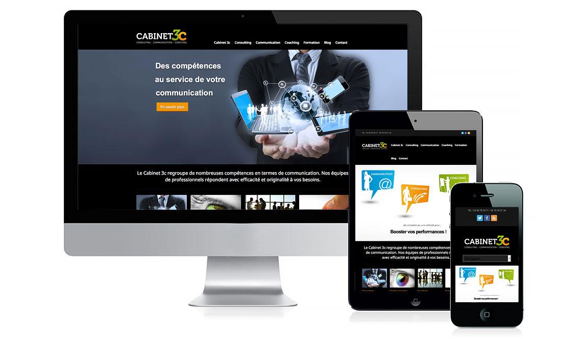 site du cabinet 3c