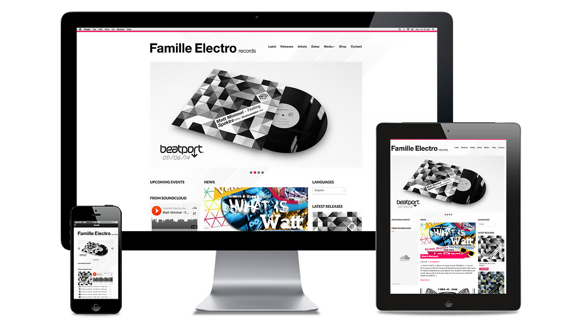 site famille electro