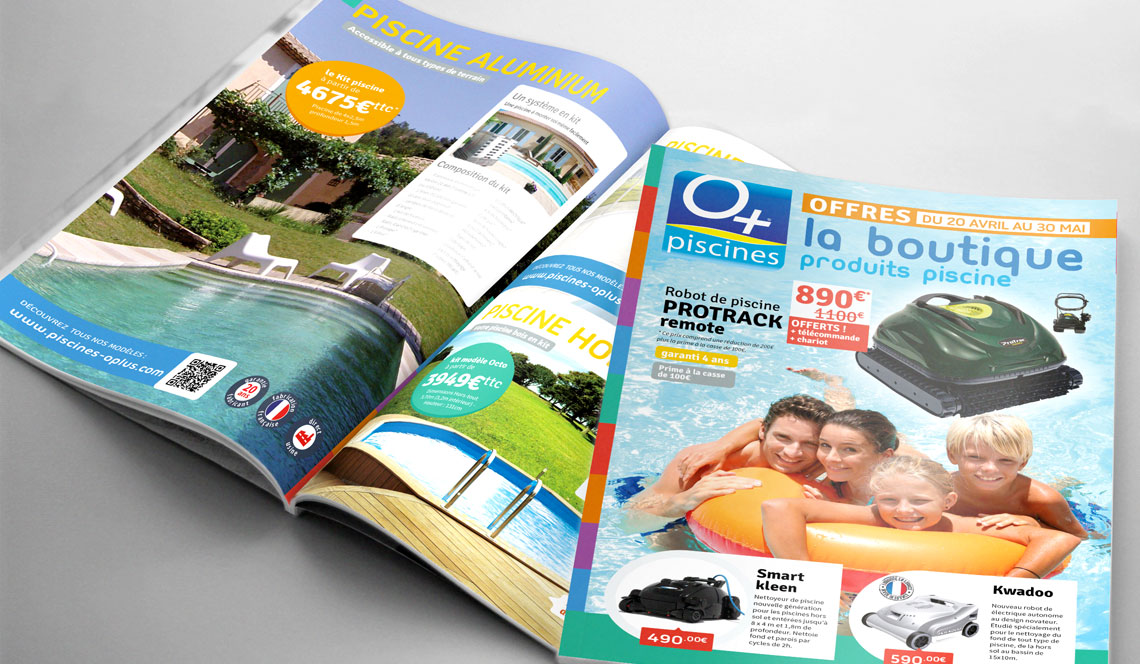 Catalogue produits piscine oplus for Catalogue piscine
