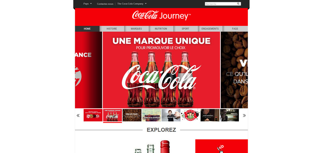 Site de Coca-Cola France