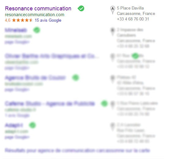 Référencement Local important : Listing Google