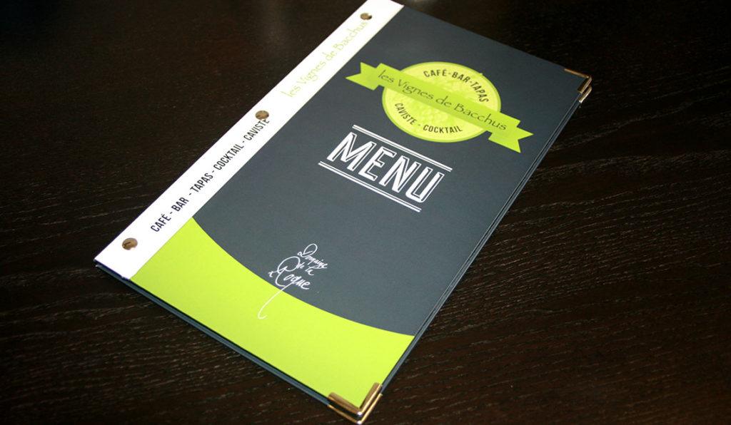 menu pour bar tapas