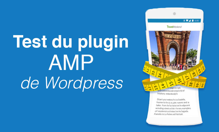 Test plugin AMP worpress