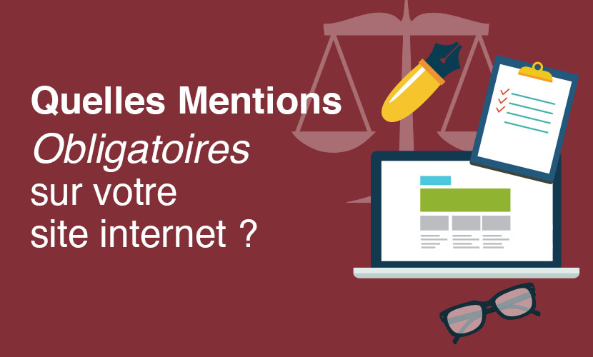 mentions obligatoires sur site-internet