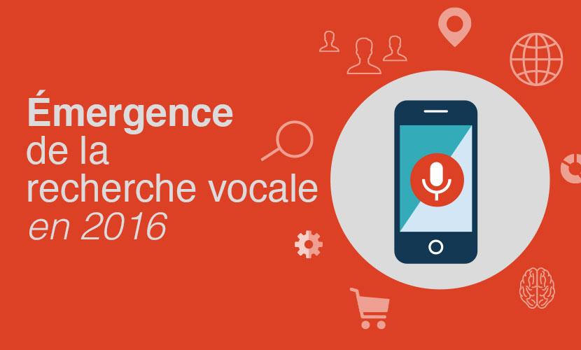 Émergence de la recherche vocale en 2016