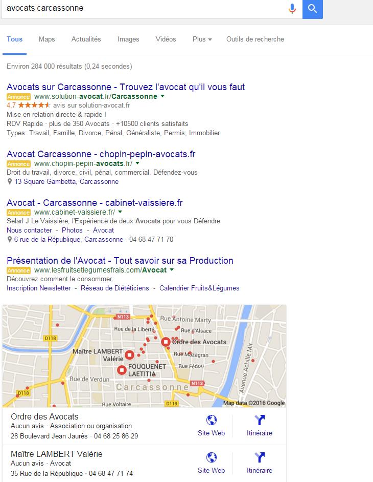 Pourquoi un 4ème lien Adwords dans les résultats Google ?