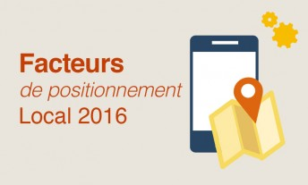 Facteurs de positionnement local 2016