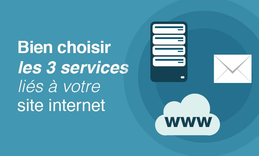 Bien choisir les 3 services liés à votre site internet