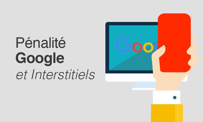 Pénalité Google et Interstitiels
