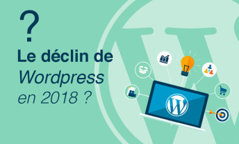Le déclin de wordpress en 2018 ?