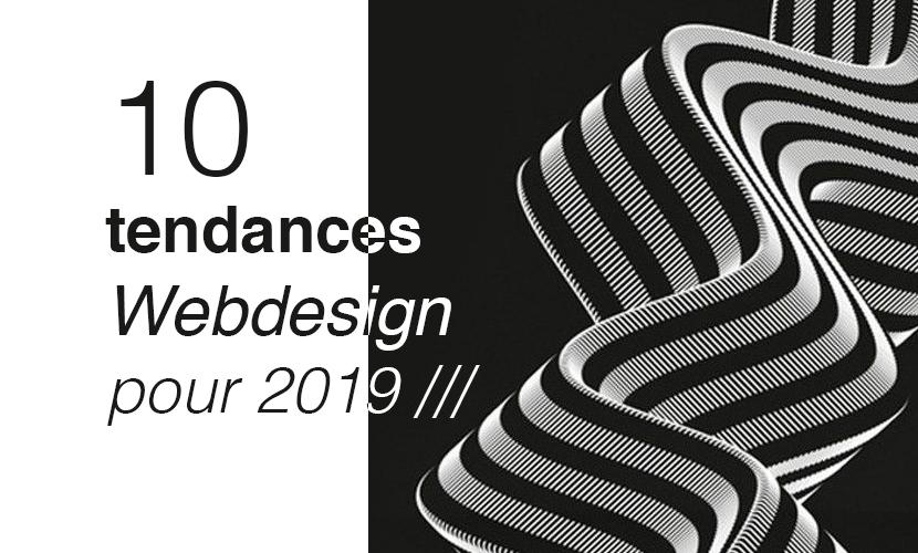10 tendances webdesign 2019