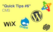 """Quick Tips #6"" CMS"