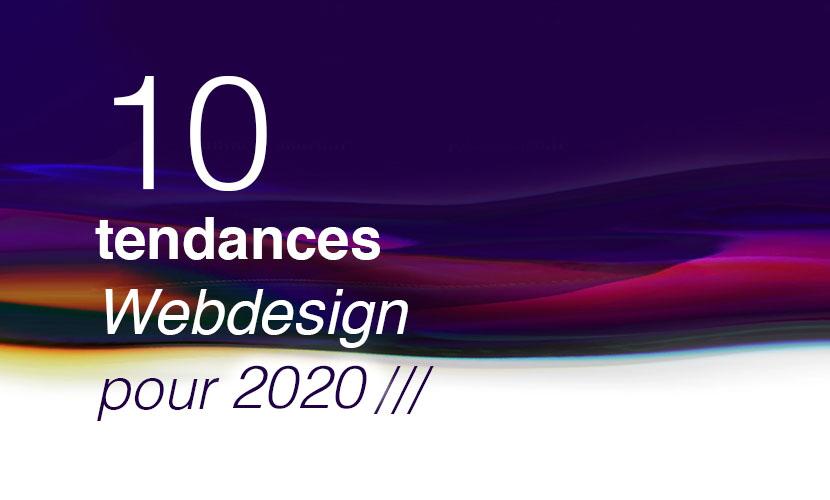 10 tendances webdesign 2020