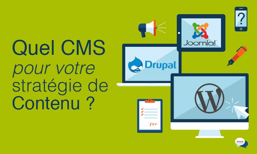 Quel CMS pour votre stratégie de contenu ?