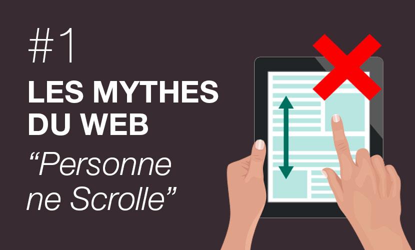 Les mythes du web #1 : personne ne scrolle