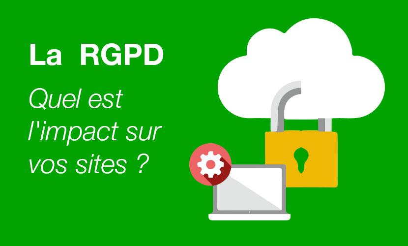 La RGPD – Quel est l'impact sur vos sites ?